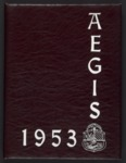 Aegis - Yearbook, Seattle University, 1953 by Seattle University