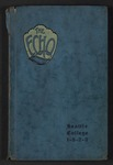 Echo - Yearbook of Associated Students of Seattle College, 1923